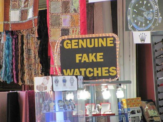 Genuine fake watches