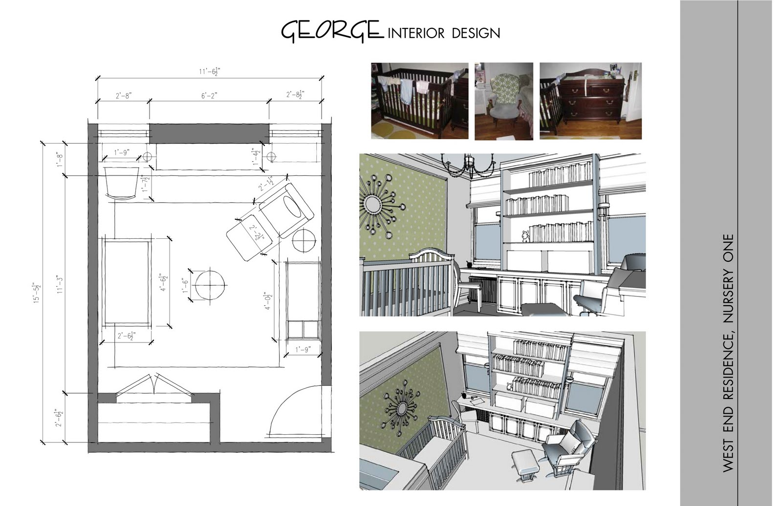 George interior design new york condo schematic design for New york condo interior design
