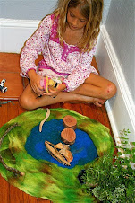 Make a felted play mat