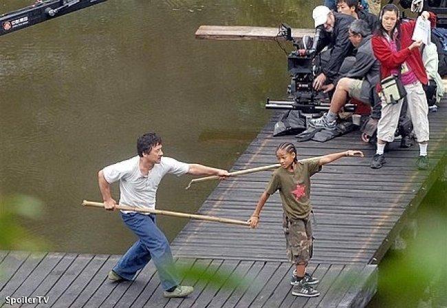 La extraña pareja: The karate kid.