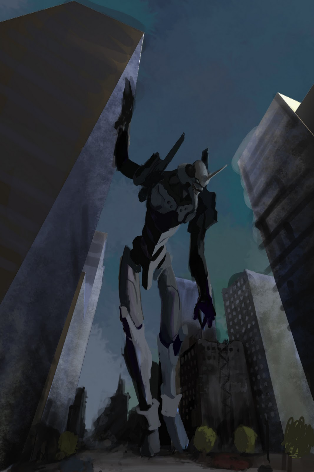 Evangelion concept art -in process-