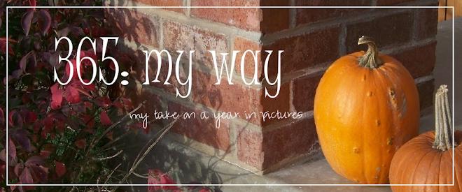 365: my way