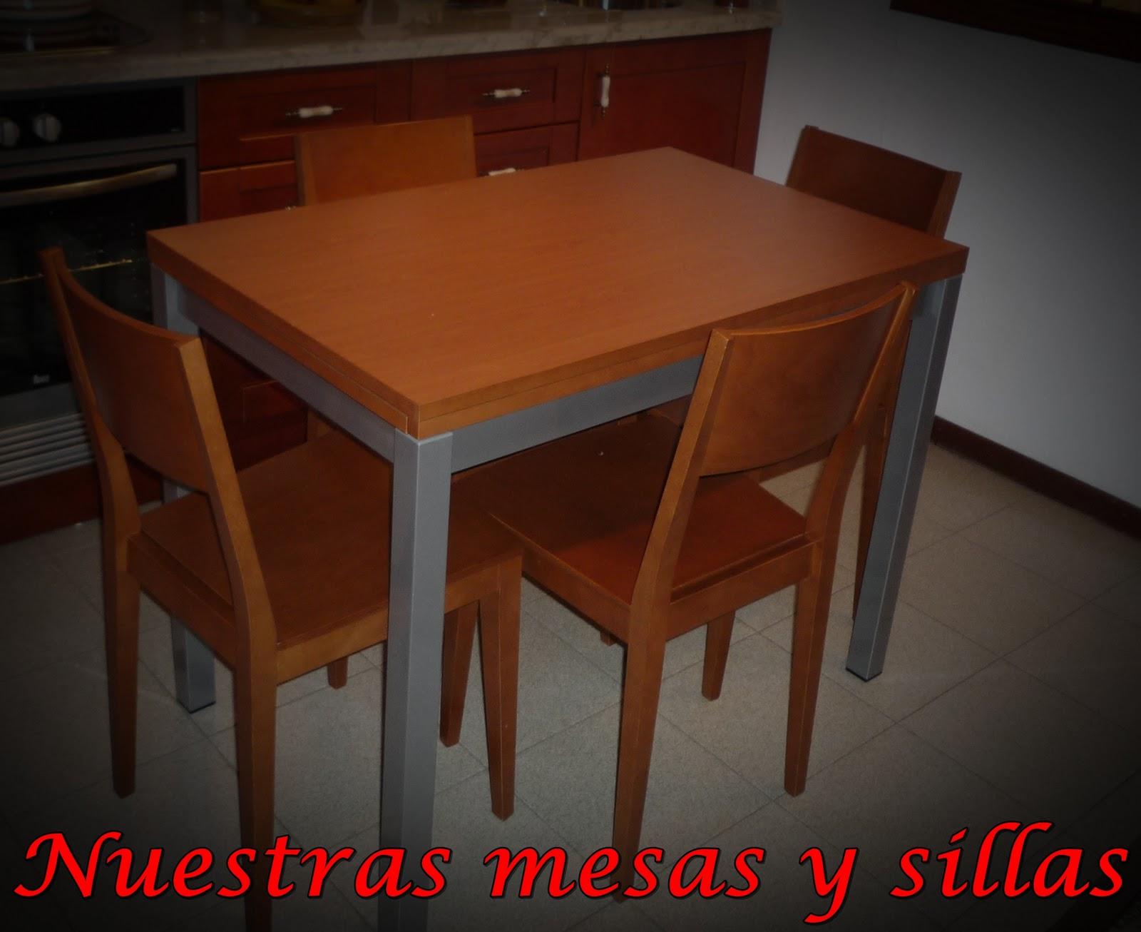 Los mejores muebles de cocina el almirez mesa de madera for Los mejores muebles de cocina
