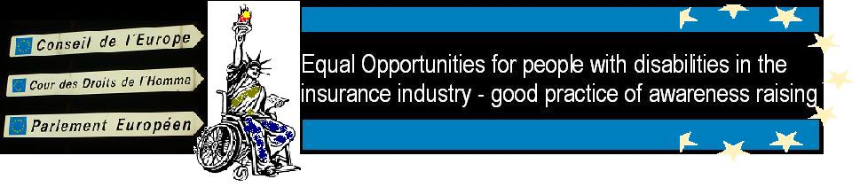 Equality and Access in the insurance industry