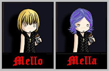 He`s name is Mello...and...mi name is Mella!!