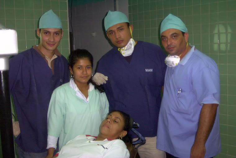 Dia en el quirofano UNAN LEON
