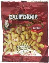 Арахис марки «California» с разными вкусами