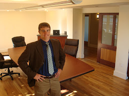 Brandon Holmes (author) in the Bellann conference room