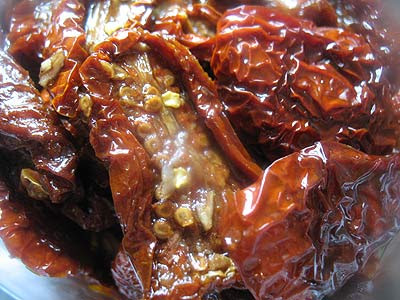 Marinated Sun-Dried Tomatoes
