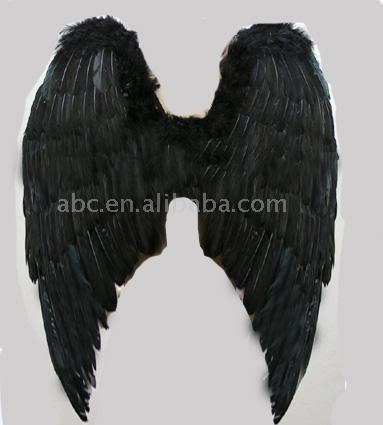 sayap malaikat hitam