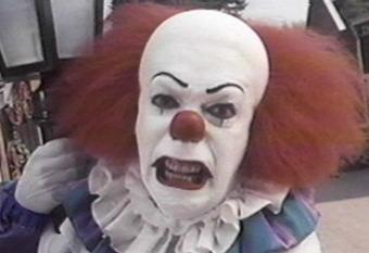 Pennywise the clown is
