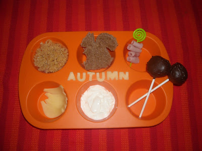 muffin tin monday autumn theme