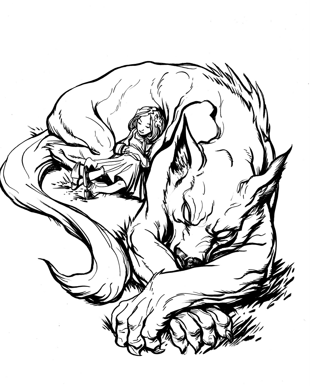 Werewolf sex drawings nude sensual wifes