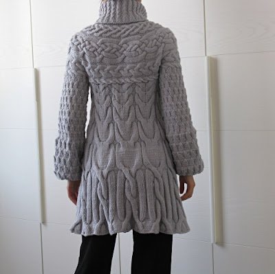 Knitting Pattern For Long Sweater Coat : Black Sheep Knits.... and sews, too!: Selfish.