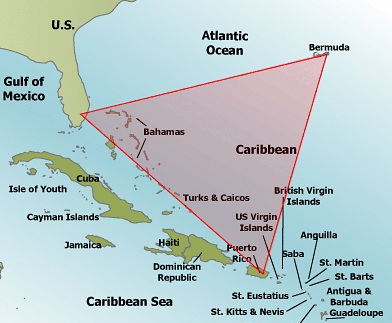 The Slow Track to Everywhere: The Bahamas Map Of Bermuda And Bahamas on