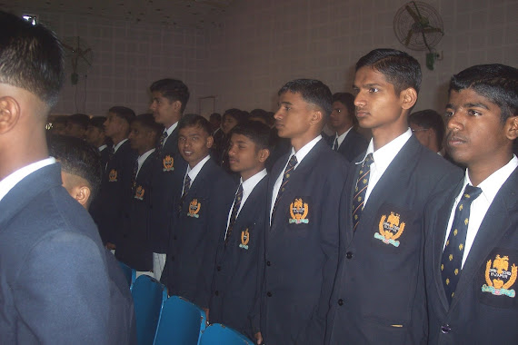 Class XII cadets