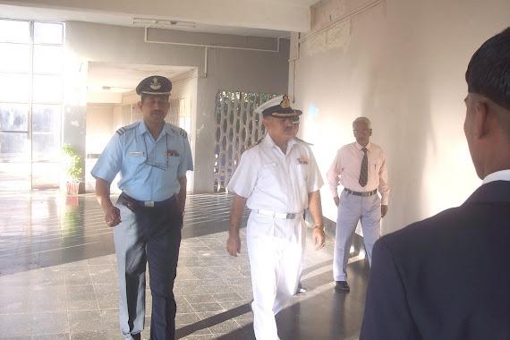 The Principal arrives
