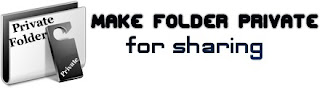 How to Make your Folders Private for Sharing