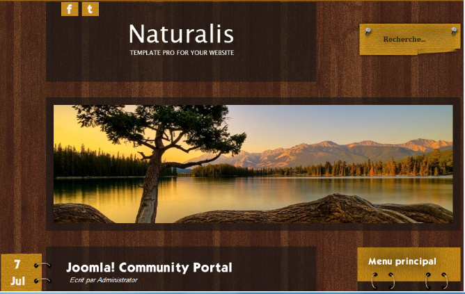 mobile and computer: naturalis #2 template joomla! 1.5, Powerpoint templates