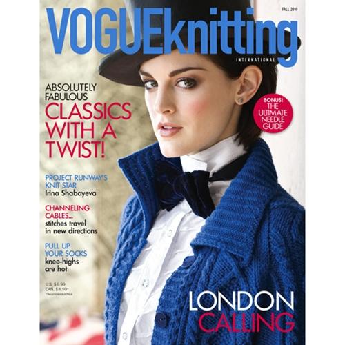 Sittin & Knittin: Vogue Knitting Fall 2010