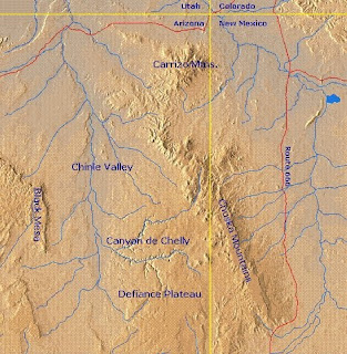 Chuska Mountain region
