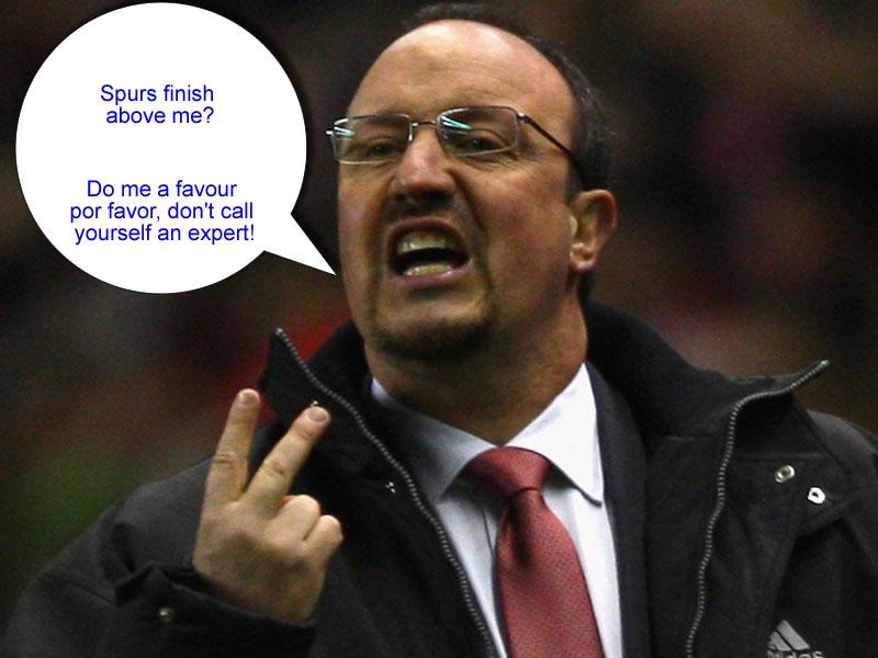 Rafa Benitez, Tottenham Hotspur Blog News