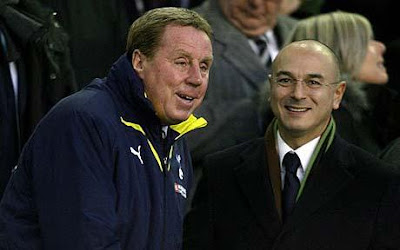 harry redknapp extends contract with tottenham until 2013, THBN