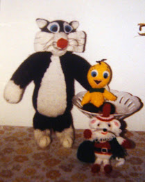 SYLVESTER & TWEETY PIE plus CHRISTMAS MOUSE