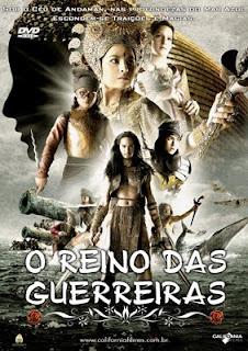Filme Poster O Reino das Guerreiras DVDRip RMVB Dublado