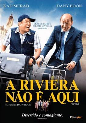 Filme Poster A Riviera Não é Aqui DVDRip RMVB Dublado