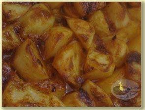 Cartofi cu chilli,maioneza si mustar