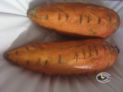 Cartof dulce cu rozmarin sau zaatar