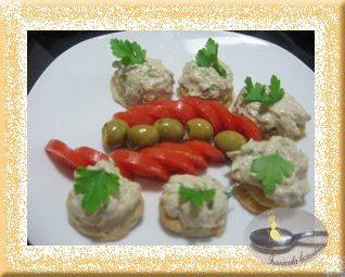 Salata de thina cu vinete