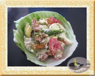 Salata cu cotegi si avocado