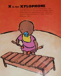 Page X from 'K is for Kwanzaa' by Juwanda Ford