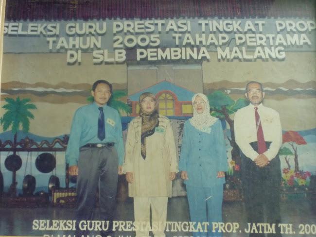JUARA 1 GURU SMA BERPRESTASI KAB. PONOROGO TAHUN 2005
