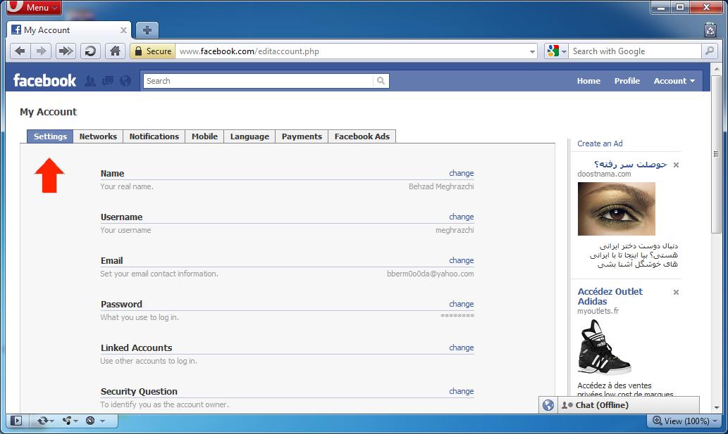نحوه باز کردن فیس بوک motorflash asia و باز کردن فیس بوک بدون فیلتر capc asia و باز کردن فیس بوک بدون نیاز به فیلتر شکن
