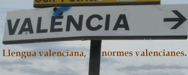 Llengua valenciana, normes valencianes