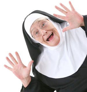 smiling nun