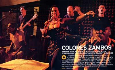 Novalima - Colores Zambos
