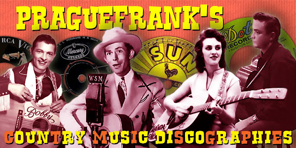 Praguefrank&#39;s Country Music Discographies