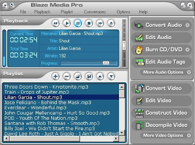 Blaze Media Pro Multimedia Software