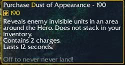 Dust of Appeareance