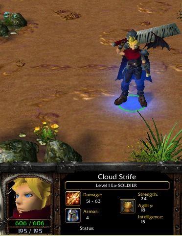 Dota Allstars Blog Playing Cloud Strife On Dota Allstars
