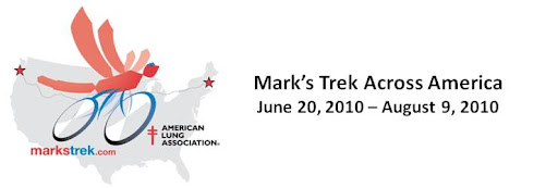 Mark's Trek Across America
