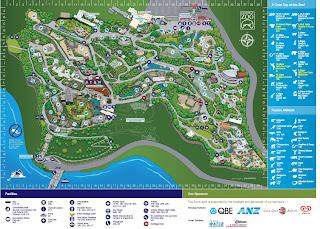 Taronga Zoo Map