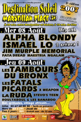 alpha blondy, ismael lo en concert