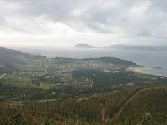 Val de Nebra dende a ladeira oeste do Iroite.