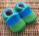 Woolly Bottoms Wool Slippers