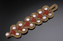 Mosaic Chain Cuff
